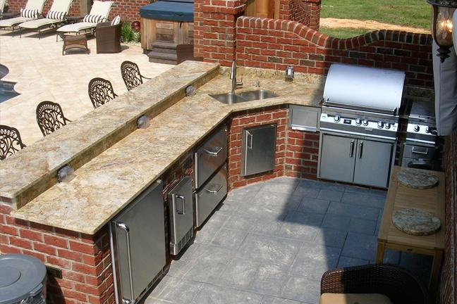 outdoor kitchen kits vs modular vs built in: comparing outdoor